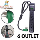 Outlet Surge Protector Power Strip Heavy Duty With Flat Plug For Home Appliance photo