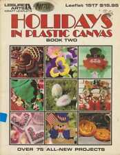 HOLIDAY IN PLASTIC CANVAS BOOK 2 OVER 75 PROJECTS MUST SEE!!!