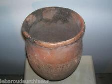 ancien vase en terre cuite afrique. old Terracotta vase african art afrikanisch