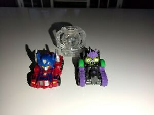 Angry Birds Transformers Telepods Red Optimus Prime & Megatron