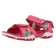 Scarpe Sandali in pelle rosa per bambine dai 2 ai 16 anni