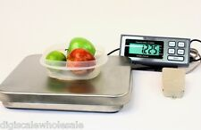 Pizza Scale Kitchen Weighing 25lbs x 0.005 Pound Tree PIZA 25 RS232 & AC Adapter