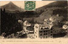 CPA  Environs de Grenoble - Saint-Pierre de Chartreuse et le Chamechaude(652833)