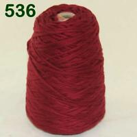 Sale New 1Cone 400g Soft Worsted Cotton Chunky Super Bulky Hand Knitting Yarn 36