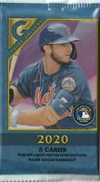 2020 TOPPS GALLERY HOBBY BOX PACK - 5 CARDS PER PACK - 4 CARDS IF SPECIAL INSERT