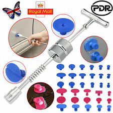 UK PDR Tools Car Paintless Dent Removal Kit Slide Hammer 24PCS Dent Puller Tabs