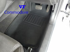 To suit Holden VF Commodore Car Floor Mats 3D Front Rubber  2013 onwards