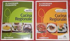 CUCCHIAIO D'ARGENTO Cucina regionale 2 volumi Nord Italia e Centro Sud Italia