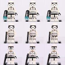 9pcs Star Wars First Order Storm Trooper & Clone Trooper Custom Lego Mini Figure