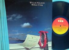 Willie Nelson ORIG OZ LP Without a song EX '83 CBS SBP237972 Outlaw Country