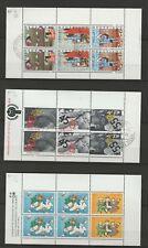 PAYS BAS - lot de 3 blocs (n° 17, 20 et 25)
