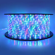 50'/100'/150'/300ft LED Rope Light Indoor Outdoor Cuttable Flexible Lights Strip