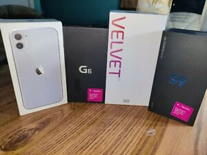 Lot of 4 cell phone.. OEM Boxes ONLY.  See pics. Great Shape