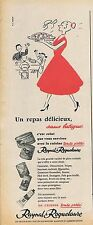 PUBLICITE ADVERTISING 015 1956 RAYNAL & ROQUELAURE cuisine toute prête