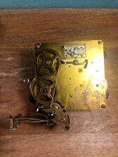 Unmarked Triple Chime Platform Escapement Clock Movement Bench Tested (Lot B103)