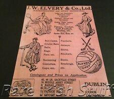 Rare Old Irish Sports Shop Dublin Gaelic Sports,GAA, Hurling,Tennis,Golf- Print