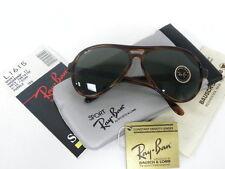Vintage B&L Ray Ban Vagabond II Mock Tortoise G-15 62mm L1615 Aviator Sunglasses