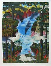 "JOSE CARLOS RAMOS ""POWER IN NATURE"" Hand Signed Limited Edition Serigraph Art"