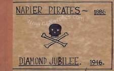 NAPIER PIRATES RFC NZ RUGBY DIAMOND JUBILEE 1886 - 1946