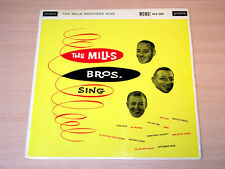 EX/EX- !! The Mills Brothers/Sing/1960 London Mono LP