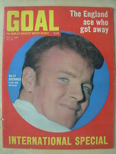 GOAL MAGAZINE MAY 3 1969 CRYSTAL PALACE - BILLY BREMNER - MAN CITY WITH FA CUP
