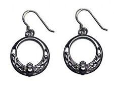 Ireland Irish earrings Sterling silver Royal Claddagh