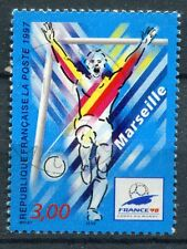 FRANCE TIMBRE OBL N° 3075 MARSEILLE FOOTBALL COUPE DU MONDE 98