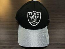 Cap Hat Oakland Raiders New Era 2016 NFL Sideline 39thirty Flex Fit L/XL