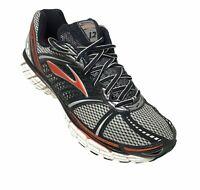 Brooks Trance 12 Mens Running Shoes Sneakers Size 10.5 D Black Orange