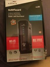 Arris Model SBG6580 Surfboard Cable Modem & Wi-Fi Router N300/300 Dual Band