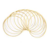 10X DIY Handwerk Vosarea Dreamcatcher Bambus Ring  für Traumfänger Mandalas 20cm