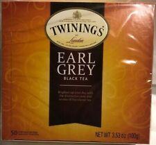 Twinings Earl Grey 50 tea bags  (Pack of 1)