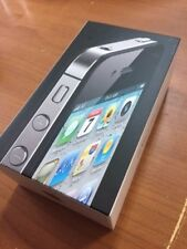 APPLE IPHONE 4 Manual & Box Only- NO PHONE - BLACK