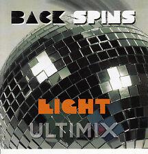 Ultimix Back Spins 8 CD Vanity 6 Eagles Kool & The Gang Chic Carl Carlton ABBA