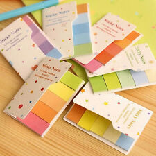 Small Sticky Post-It Notes Paper Diary Notebook Memo Pad Tab Note Book Office