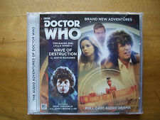 Doctor Who Wave of Destruction, 2016 Big Finish audio book CD