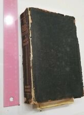 Antique 1935 Bible Book American Translation Chicago Press Leather Cover SEE DES