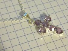 Crystal Chain Amethyst Costume Necklaces & Pendants