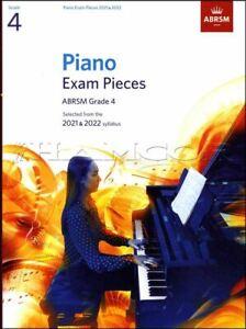 Piano Exam Pieces 2021-2022 ABRSM Grade 4 Sheet Music Book SAME DAY DISPATCH