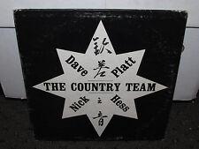 DAVE HESS / NICK PLATT THE COUNTRY TEAM LP PRIVATE PRESS HONG KONG FOLK