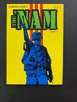 The Nam 🔥 TPB Volume # 1 Marvel Comics 1987! 1st Print!