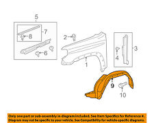 TOYOTA OEM 14-16 4Runner-Front Fender Liner Splash Shield Right 5387535150