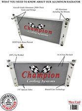 1999 - 2007 Chevrolet Silverado GMC Sierra 3 Row WR All Aluminum Radiator