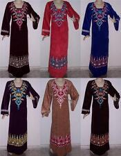 Full Length Long Sleeve Velvet Dresses for Women