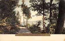 Catskills Mts New York Ontcora Artist Seat Scenic View Antique Postcard K27786