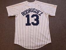VTG Majestic New York Yankees #13 Alex Rodriguez Baseball Jersey Shirt White M