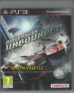 Ridge Racer Unbounded PS3 Brand New Factory Sealed Racing