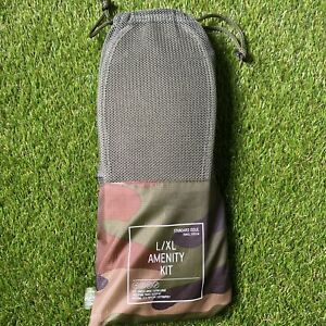 Herschel Supply Co. Amenity Kit in Woodland Camo New in Package L/XL