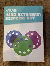 Vive Finger Exerciser and Hand Strengthener Extension Exercise Set