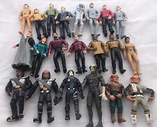 LOT Of 21 Vintage 90's Original & Star Trek TNG Playmates Action Figures Loose